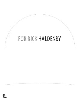For Rick Haldenby